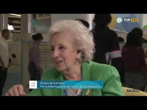 Argentina en la Feria del Libro de Guadalajara - Estela de Carlotto - 05-12-14