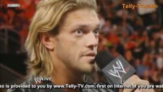 WWE - EDGE'S RETIREMENT SPEECH (Monday Night Raw April 11th 2011)