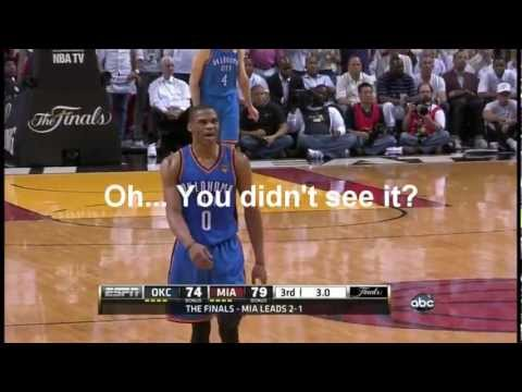 Rigged? Destroying Basketball... 2012 NBA Finals flops and refereeing in favor of Miami Heat. Part 1