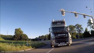 SCANIA T500 MLC TRANSPORT LTD ROLLING FOOTAGE