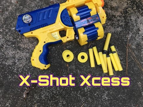 Honest Review: The X-Shot Xcess (Multi-Ammo Madness)