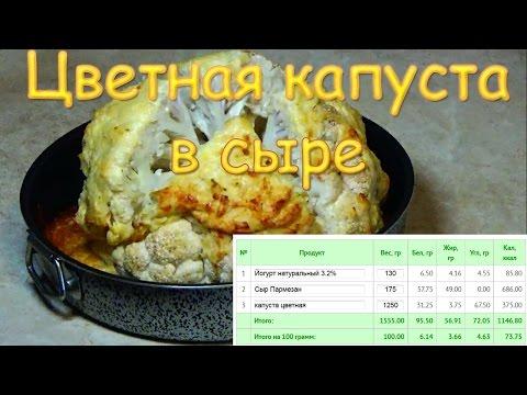 ПП рецепт: ВСЕГО 74ккал / Цветная капуста в кляре