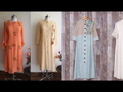 Top 30 New kurti neck designs/Must watch neck designs ideas for Kurta suit blouse