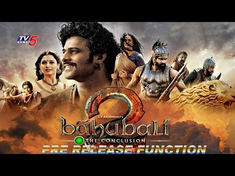 Baahubali 2 Pre Release Function Full Event | Prabhas | Rana | Tamannaah | SS Rajamouli | TV5 News thumbnail