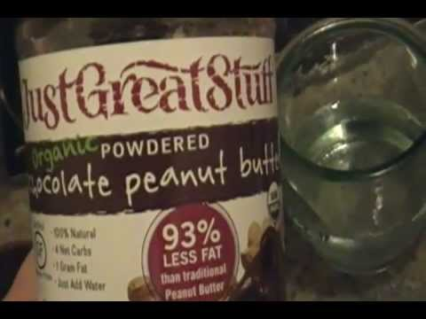 Powdered Chocolate Peanut Butter! Health and Wellness