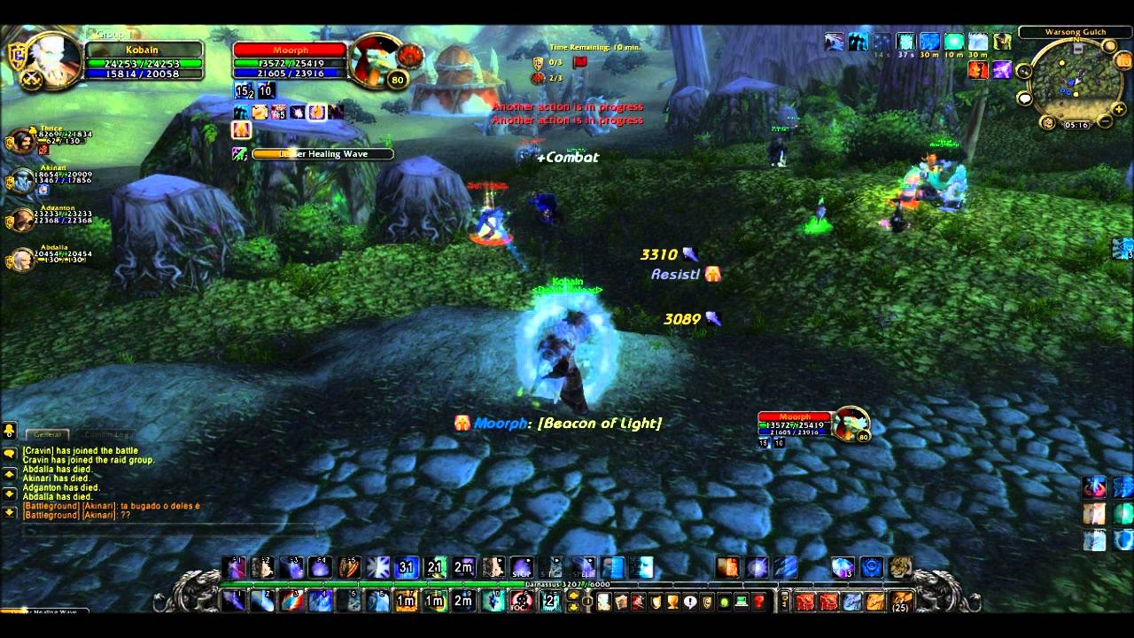 Learning to play my frost mage - World of Warcraft
