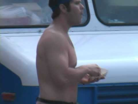 Nude guy at Taco Truck in Willamsburg - NO JOKE!!!