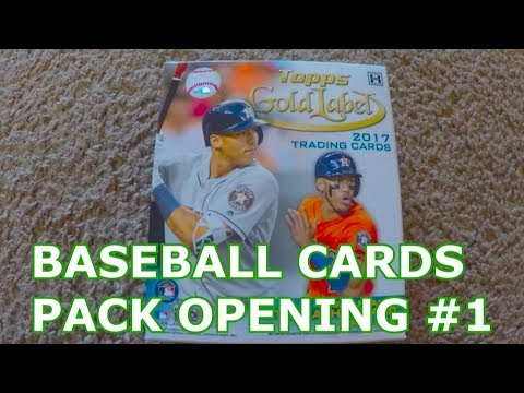 OPENING BASEBALL CARD PACKS WITH LUMPY | BENNY NO | Baseball Card Pack Opening #1