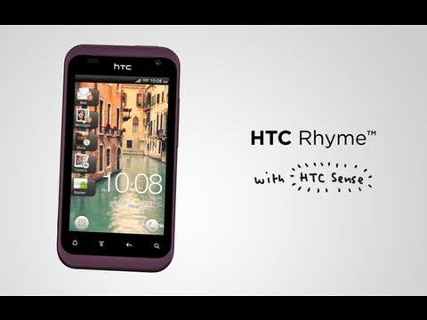HTC Rhyme - First look