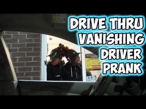 Drive Thru Vanishing Driver Prank!