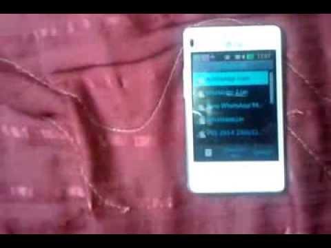 Instalando Whatsapp no Lg 375 kkkk