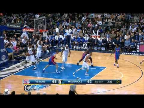 Detroit Pistons 108-95 Dallas Mavericks (07/01/2015)