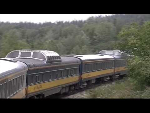 Alaskan RR Tourist Train