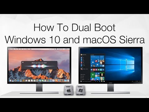 How to Dual Boot Windows 10 and macOS Sierra on PC | Hackintosh | Single Drive | Step By Step