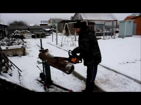Козел для пилки дров видео