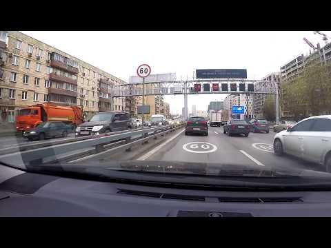 🚘С Ветерком по Москве. Поездка по районам города на машине. Жизнь в Москве!
