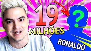 19 MILHÕES! REVELANDO O RONALDO E SURPRESA ESPECIAL!