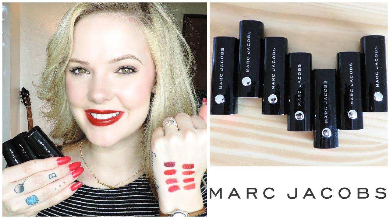 Cora Cora Marc Jacobs Marc Jacobs le Marc Lip Cremes
