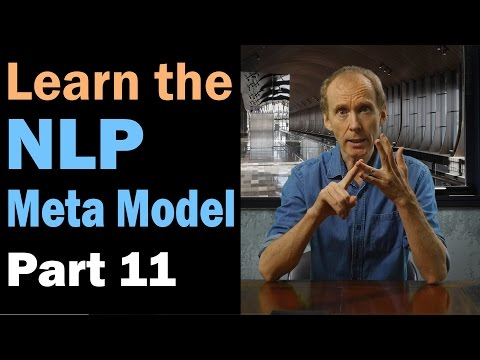 Learn the NLP Meta Model: Unspecified Verbs. Part 11/12