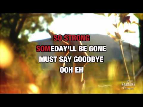 Goodbye's (the Saddest Word) In The Style Of celine Dion With Lyrics (no Lead Vocal) video