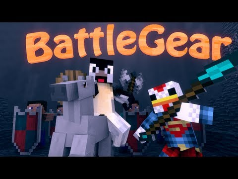 Dual Wield Mod: Minecraft Mine and Blade Battlegear 2 Mod Showcase!