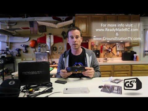 GSTV - FatShark Dominator FPV Goggles - Unbox - @ ReadyMadeRC