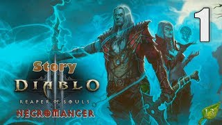 Diablo III: Reaper of Souls [01] Necromancer (Season 13) Let's Play Walkthrough - Part 1