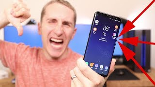 5 Things I don't like about the Galaxy S8 ! | After 100 Days of Use