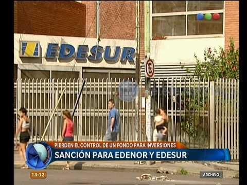 Sanción a Edenor y Edesur -  Telefe Noticias