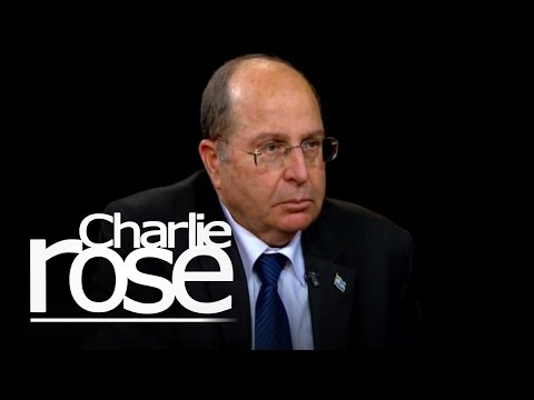 "Israel's Moshe Ya'alon on a ""Two State"" Solution (Oct. 20, 2014) 