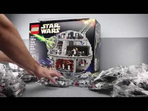 LEGO 75159 - 2016 Star Wars Death Star Unboxing & Giveaway! Review & Speed Build / Time Lapse Soon!