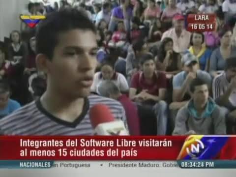 Congreso Nacional de Software Libre en la Flor de Venezuela, estado Lara
