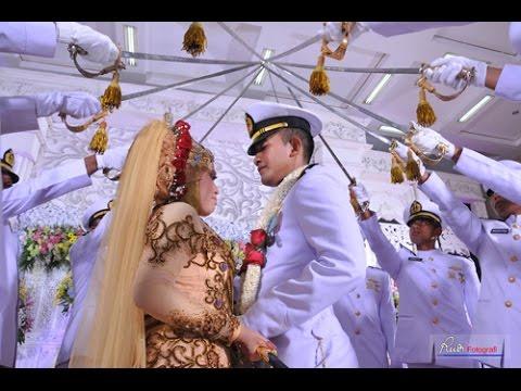 Pedang Pora Di Pernikahan Hilda Febri Dengan Video Drone Aerial
