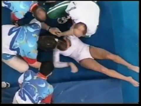Adrienne Nyeste (HUN) 2000 Olympic Prelims - Bars