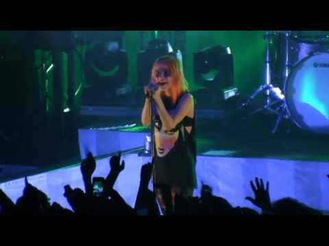 Paramore in Detroit- 