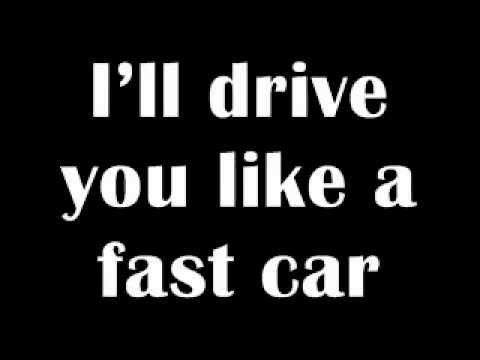 Fast Car -Lyrics- Taio Cruz