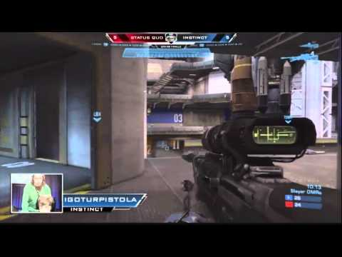 MLG Columbus 2012 - Halo: Reach Grand Final: Instinct vs Status Quo (Final match)