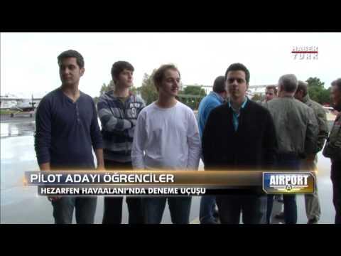 Habertürk / Airport: Özyeğin Üniversitesi'nin Pilot Adayları İlk Uçuşunu Yapıyor