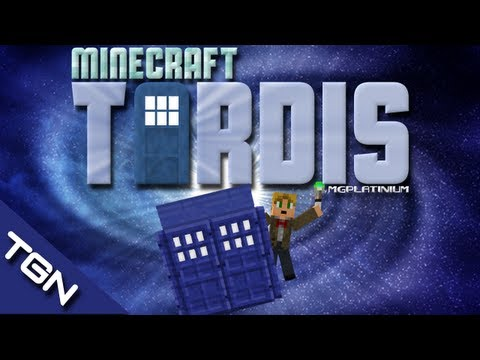 "Minecraft 1.6.2: Doctor Who. TARDIS ""mod free"" By MGPlatinium"