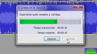 grabacion de audio