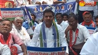YSRCP Leader IV Reddy Strongly Demands Special Status for AP - Watch Exclusive