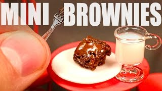MINI BROWNIES!