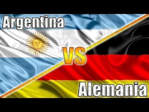 ARGENTINA VS ALEMANIA - Final Mundial 2014
