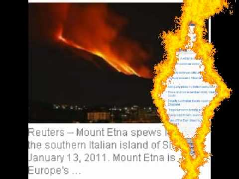 Prophecy Update 2011, Dead Birds, Fish, Magnetic shift? Earthquakes, Australia Floods.Famine,Etna