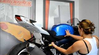 Hotbodies Racing 2011 Suzuki GSX-R 600/750 Undertail Installation