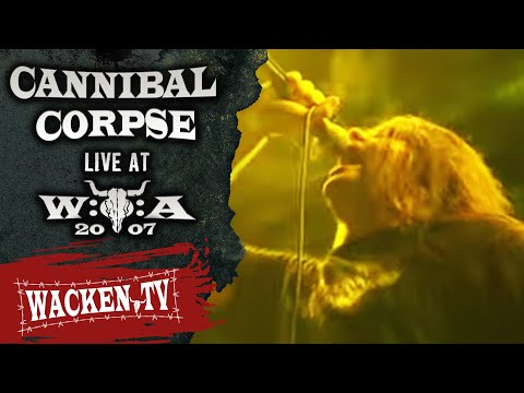 Cannibal Corpse - Hammer Smashed Face - Live at Wacken Open Air 2007