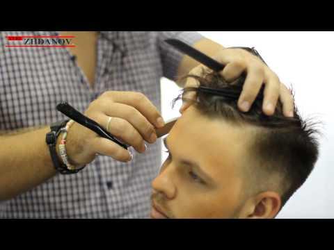 Уроки мастер класса мужских стрижек видео