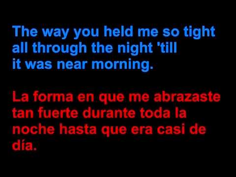 Of Monsters and Men - Love love love - Letra en español y en inglés en la pantalla