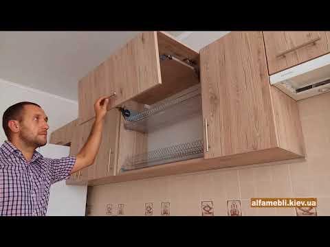 Недорогая кухня со встроенной техникой. Наша работа.