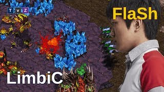 FlaSh y una clase maestra de dominio aéreo - Starcraft remastered